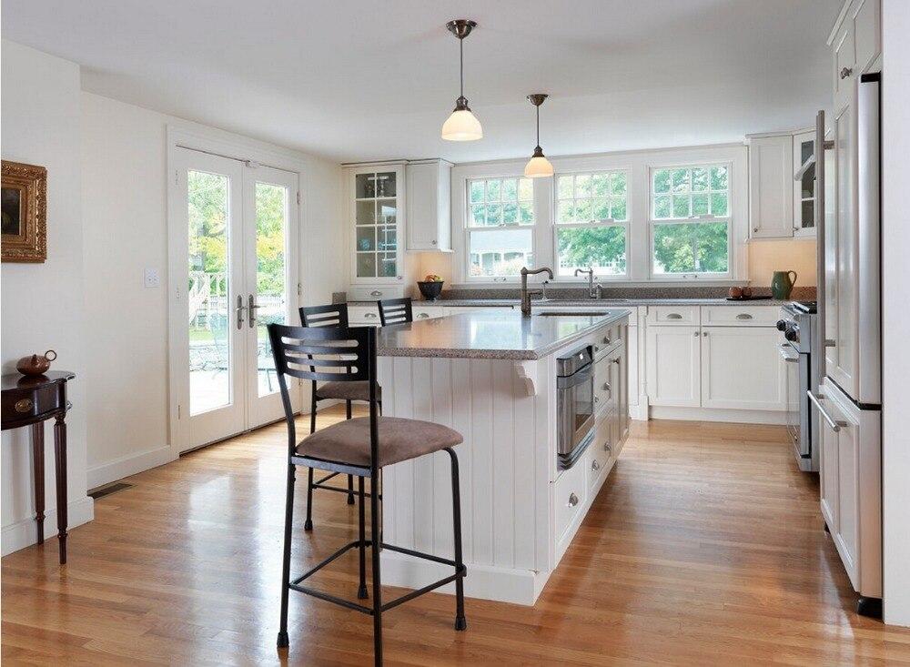 2017, кухонные шкафы из цельного дерева, горячая распродажа, дешевая цена, изготовленная по индивидуальному заказу, традиционная кухонная меб