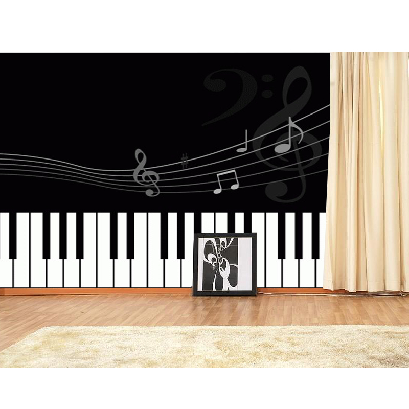 Online get cheap piano wallpaper alibaba for Cheap black wallpaper