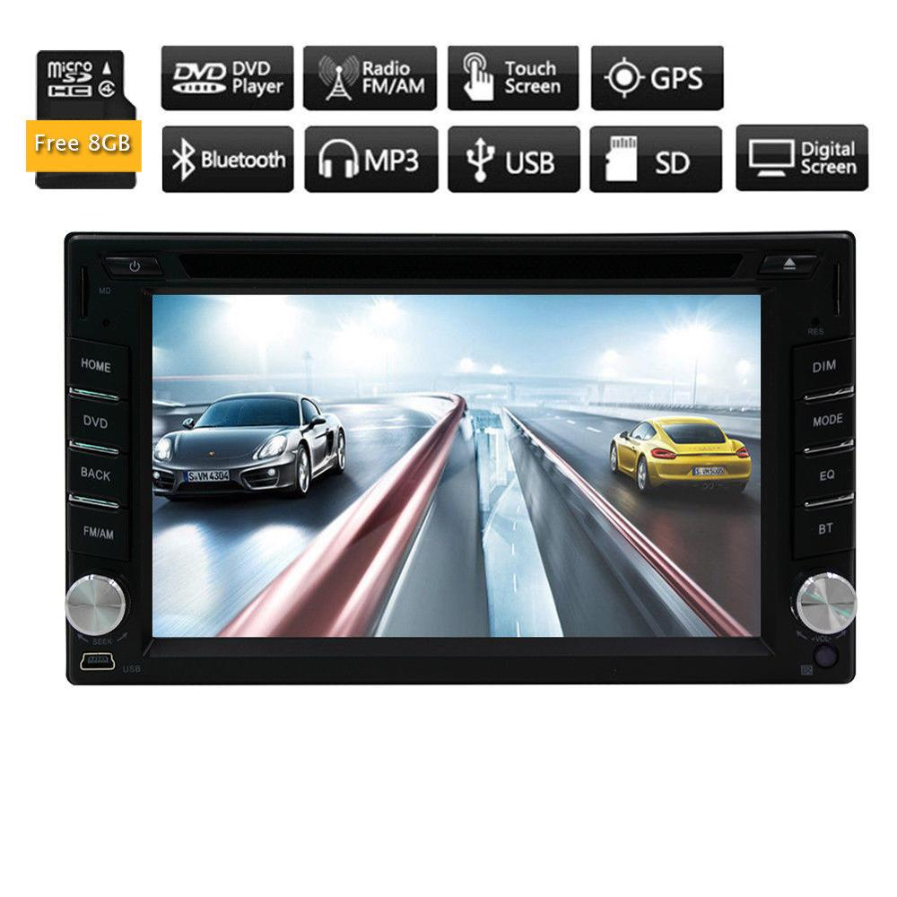 HD GPS Navi Car DVD Stereo 3D Map Autoradio Head Unit CD Logo Player Radio BT car radio player dvd cd car radio stereo in dash joying wiring harness cable 40 pin 5m extension cable for bmw dash dvd gps car radio stereo head unit