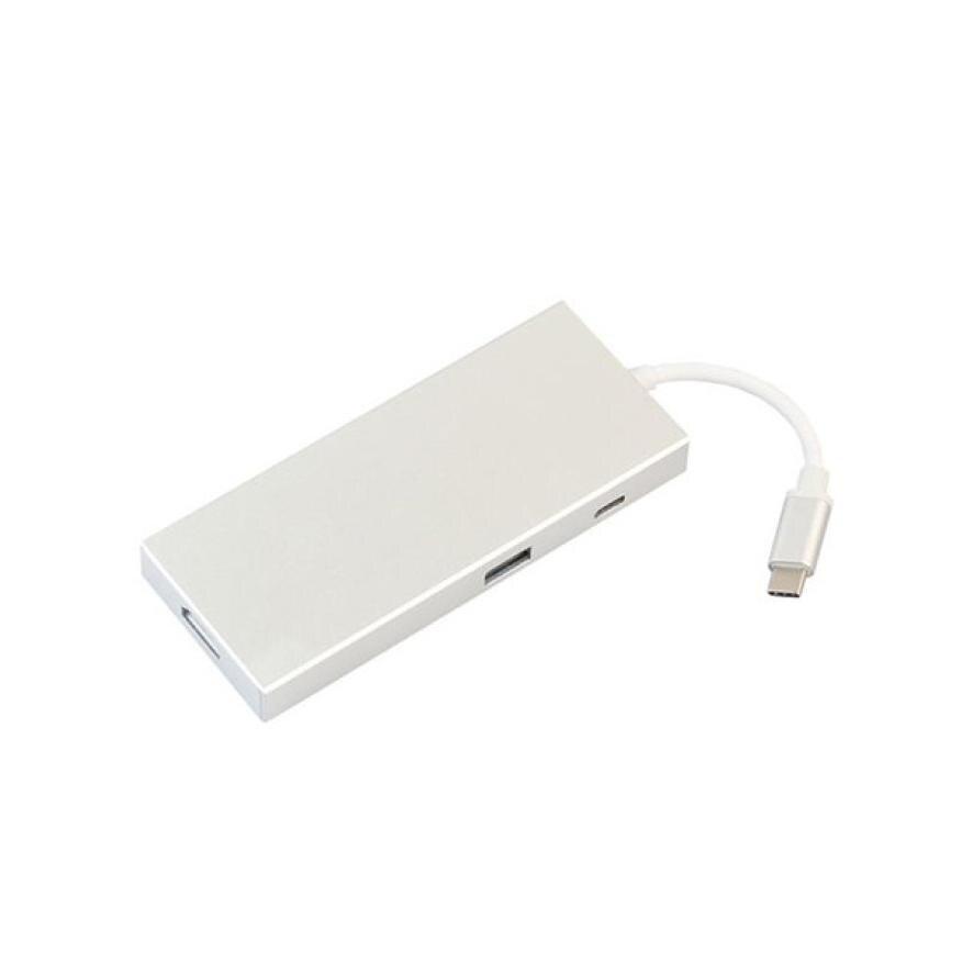 Hiperdeal haute USB-C numérique AV multi-port adaptateur AVOTCH C Hub 3.1 lecteur de carte HDMI 4 K sortie livraison directe Apr 9