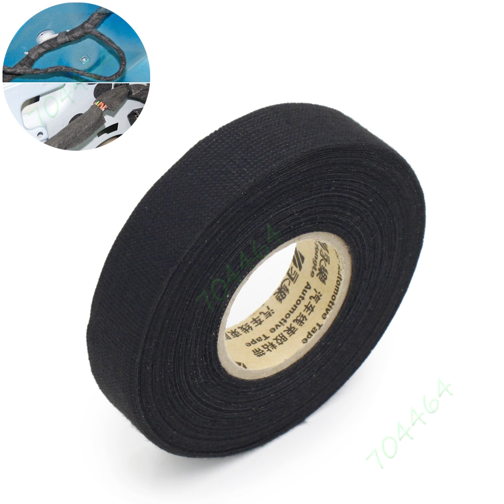 5pcs lot 19mm 15m wiring harness velvet cloth tape for car rh aliexpress com Heat Tape Cut to Length Using Heat Tape in Greenhouse