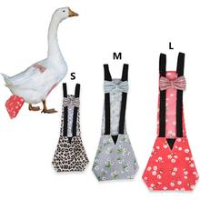 Pet Diaper Chicken Duck Farm Clothing Bowknot Design Simple And Elegant Designed With An Elastic Band