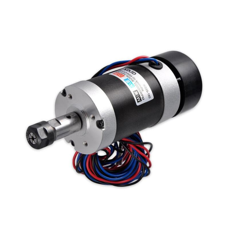 CNC Spindle Brushless 400W Air Cooled Spindle Motor free shippingCNC Spindle Brushless 400W Air Cooled Spindle Motor free shipping