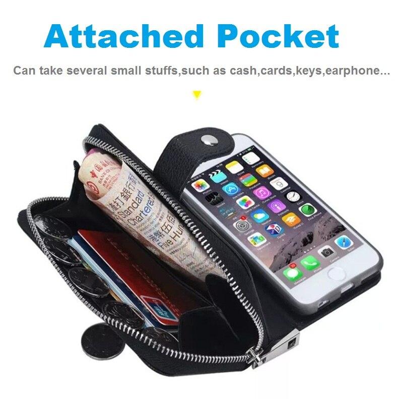 LANCASE Θήκες πορτοφολιών για θήκη iPhone 7 - Ανταλλακτικά και αξεσουάρ κινητών τηλεφώνων - Φωτογραφία 5