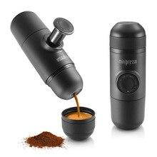 2016 neue Ankunft Minipresso WACACO Hand Espressomaschine Mini Kaffeemaschine Topf Tragbare für Outdoor-reisen Design