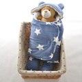 Invierno Suave Sedoso Estrella Polar Bebé Recién Nacido Swaddle Infantil Animal Fácil Dormir Sobres Swaddle Recién Nacido Abrigo Del Bebé Swaddle