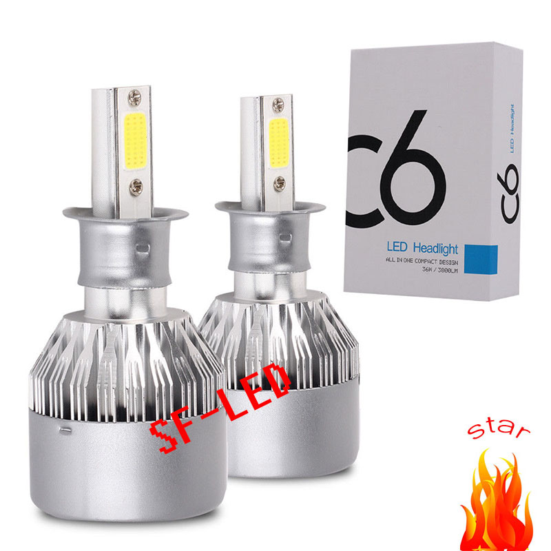 H4 H7 LED Car Headlight C6 Hot Red H1 H3 Headlamp Light H8/H11 HB3/9005 HB4/9006 9012 9007 H13 6000K 72W 8000LM All In One Car car light cob chip h4 h13 9004 9007 hi lo beam h7 9005 hb3 9006 hb4 h11 h9 h1 h3 9012 auto led headlight bulb 8000lm 12v 6500k
