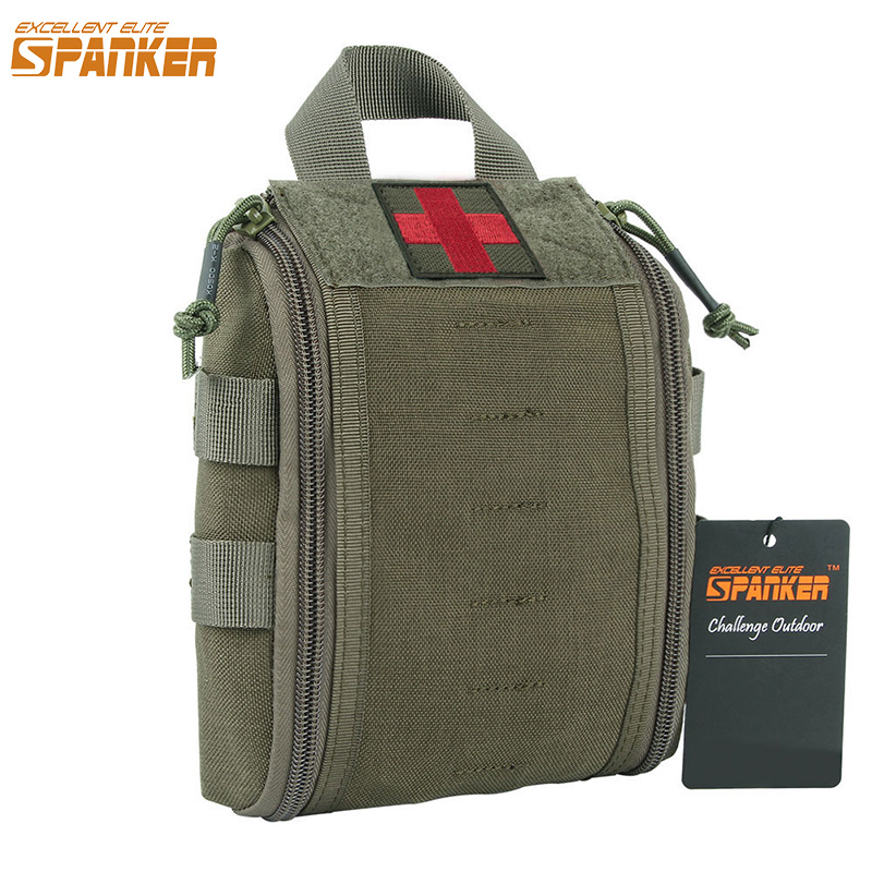 EXCELLENT ELITE SPANKER Outdoor Hunting First Aid Military Bags Molle Medical Survival Pouch Outdoor Tactical Bag excellent elite spanker waterproof military tactical backpack hunting accessories sport bag molle tactical pouch hunting bag