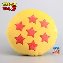 Anime Dragon Ball Z 7 Stars Plush Pillow Stuffed Cushion Toy Dolls Children Gift 20* 32 CM Children Cartoon Gift