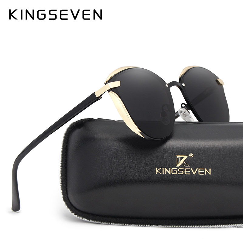 KINGSEVEN Cat Eye Sunglasses Wo