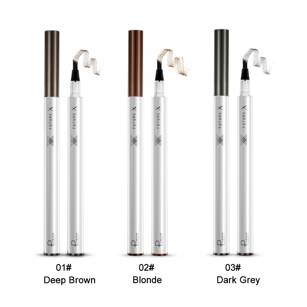 Analytical 1pc Pudaier Liquid Eyebrow Tattoo Pen Eyebrow Ink Waterproof Long Lasting Eyebrow Pencil Dress Up Your Beauty Beauty Essentials Eyebrow Enhancers