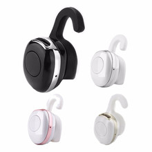 Mini Earplugs Type Bluetooth4.0 Wireless FM Headset Mp3 Mono