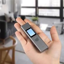 LS 1 כסף 40m כף יד מיני LCD דיגיטלי לייזר מרחק מטר מד טווח 131ft אדום אור לייזר טווח Finder