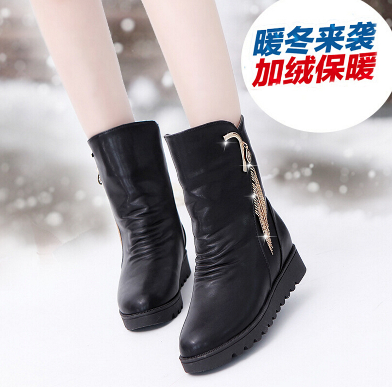 ФОТО The spring autumn period and the flat increased within the female cone Martin boots for sleeve students boots manufacturers whol