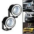 2 unids/lote Universal 2.5 pulgadas 67mm 30 W COB Led Lámpara Auto de La Niebla Angel Eyes Luz con Lente DC12 24 V Cualquier Coche Puede Utilizar CG