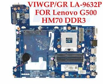 High quality laptop motherboard for Lenovo G500 VIWGP/GR LA-9632P SJTNV HM70 chipset DDR3 100% Fully Tested