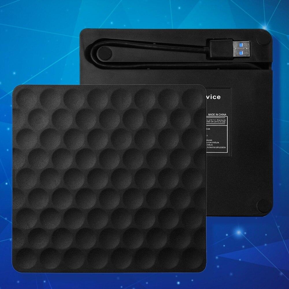 Ulra-slim USB 3.0 Externe CD DVD-RW Lecteur Rom Graveur Graveur Écrivain 5 Gbps Date De Transfert 14.8x14.2x1.8 cm pour Ordinateur Portable Ordinateurs de Bureau