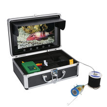 10Inch 1000TVL Fish Finder Underwater Fishing Camera 15M 30M 50M 15pcs LEDs + 15pcs Infrared Lamp For Ice/Sea/River Fishing(China)