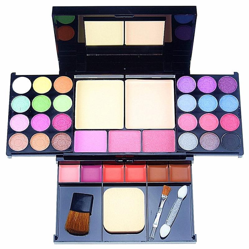 35 Color Makeup Kits Quality Professional Makeup Set 24 Color Eyeshadow Cosmetics Sets Lip Gloss Blush Make Up Brush Kits35 Color Makeup Kits Quality Professional Makeup Set 24 Color Eyeshadow Cosmetics Sets Lip Gloss Blush Make Up Brush Kits