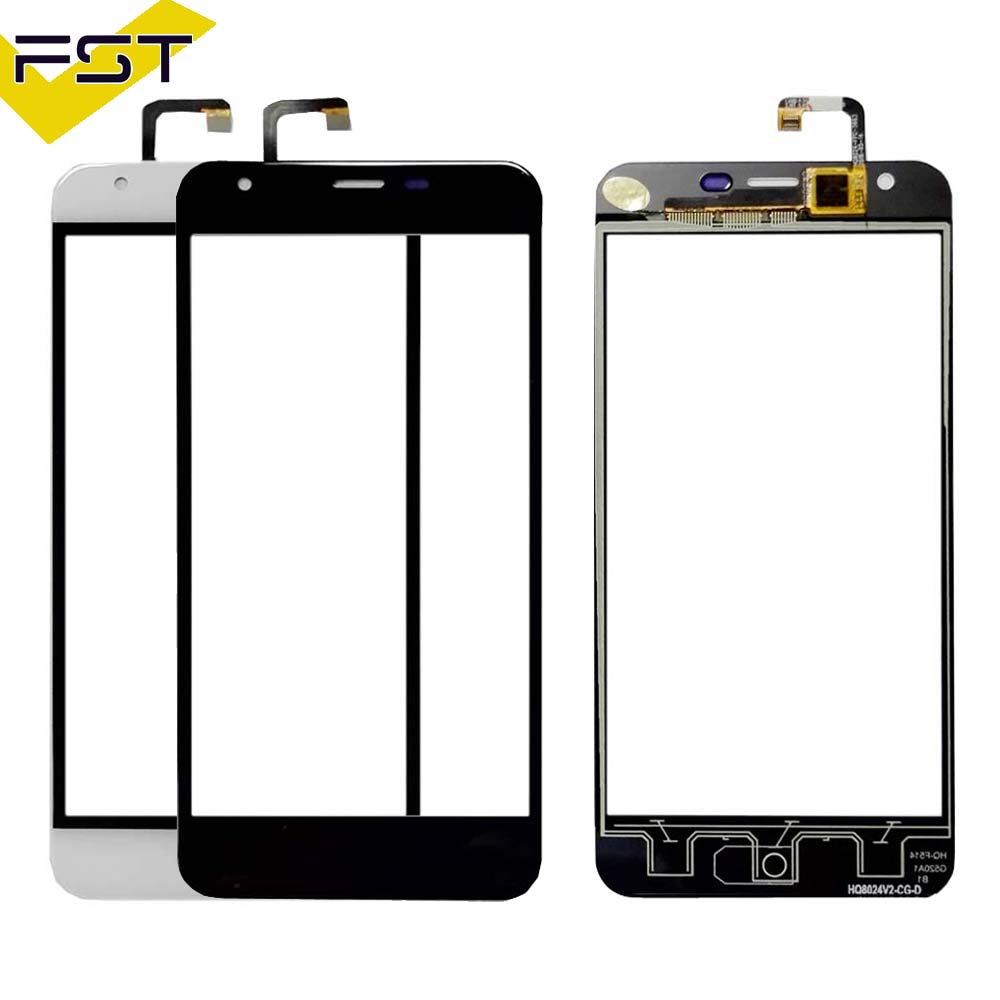 Black Touchscreen For <font><b>Oukitel</b></font> <font><b>K7000</b></font> Touch Screen Digitizer Touch Panel Glass Sensor For <font><b>K7000</b></font> Phone Repair +Free Tools image
