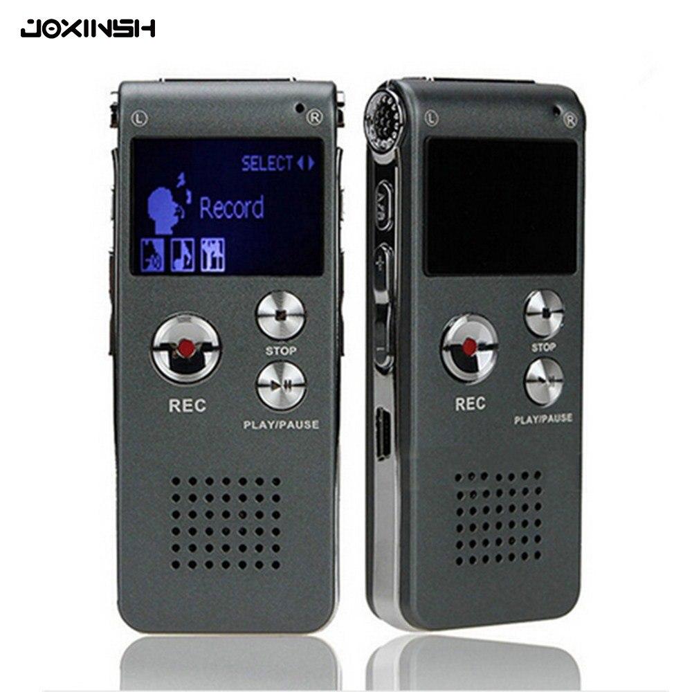 Voice Recorder 8 GB/16 GB Mini USB-Digital Audio Voice Aufnahme 650Hr Diktiergerät MP3 Player