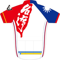Taiwan Team Cycling Jersey Mtb Bicycle Clothing Men Cycling Clothing Short Sleeve Mountain Bike Cycling Wear