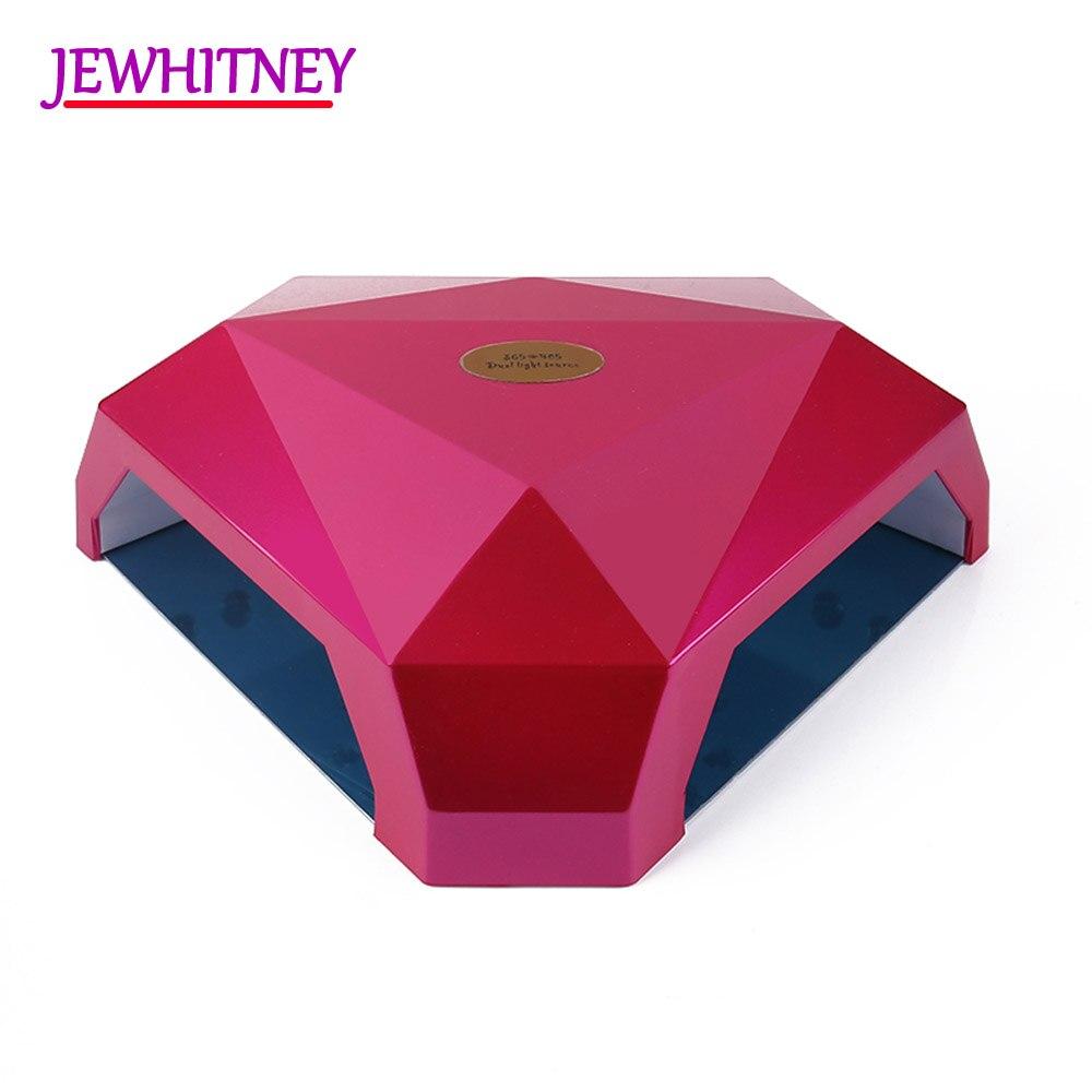 60W Nail Dryer Polish Machine UV LED Nail Lamp For Gel Nail Polish Art Automatic Hand Sensor Nail Art Tools