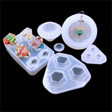 Qiaoqiao Diy Berlian Permata Silikon Cool Ice Maker Cetakan Tray Chocolate Bar Pesta Cetakan Crystalmolds Alat(China)
