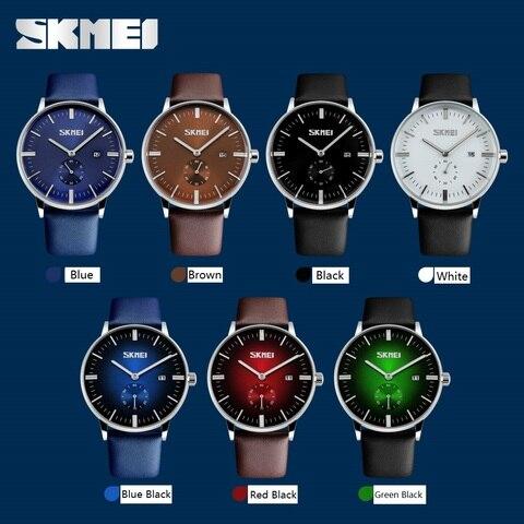 2017 Mens Watches Top Brand Luxury Quartz Watch Casual Leather Men Wrist Watch 30M Waterproof Date Male Clock Relogio Masculino Multan