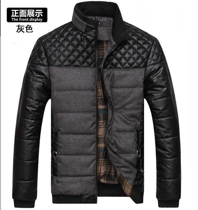 Male pabric coat men 39 s clothing brand clothing new winter for High end men s shirts