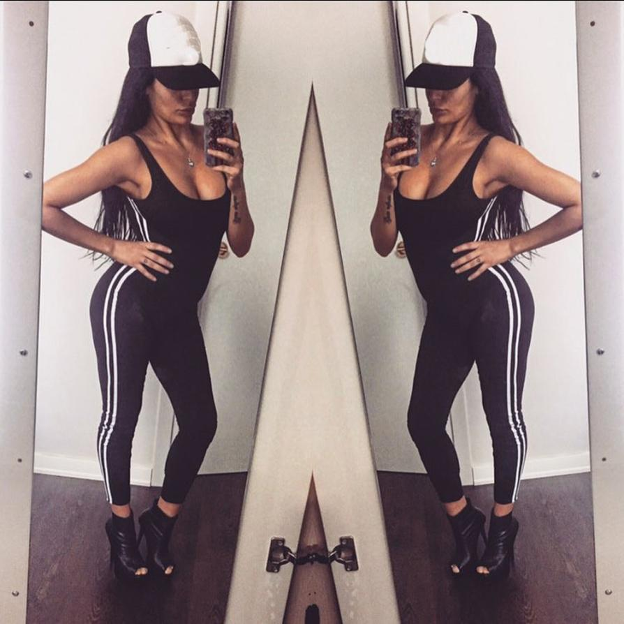 New Sexy Women jumpsuits rompers elegant rompers women jumpsuit Skinny women Fitness Leggings Pant Jumpsuit #TH