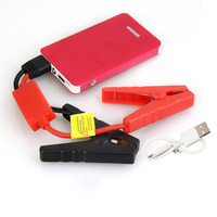 New Red Color 30000mAh Car Jump Starter Mini Emergency Charger Battery Booster Power Bank Jump Starter