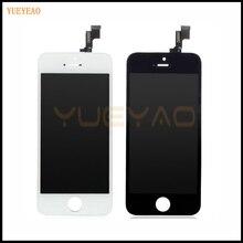Yueyao ЖК-дисплей Экран для iphone 4 4S 5 5S 5C ЖК-дисплей Экран дисплея Замена Ремонт Запчасти, Для iPhone ЖК + Сенсорный экран планшета