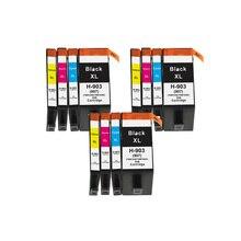 Блум совместимый для hp 903 903XL чернильный картридж для hp OfficeJet Pro 6950 6960 6970 6961 6963 6964 6965 6966 принтеры