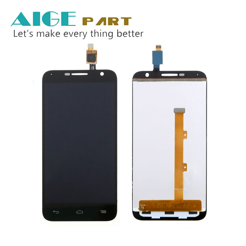 For Alcatel One Touch Idol 2 mini 6016 OT-6016A 6016X 6016E 6016D Black Full LCD Display+Touch Screen Digitizer Assembly