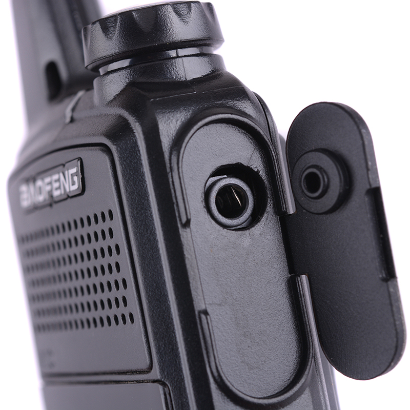 2PCS Baofeng BF-T1 Walkie Talkie UHF 400-470MHz FM Kids Transceiver Mini Radio With PTT Earpiece Child Two Way Radio Comunicador