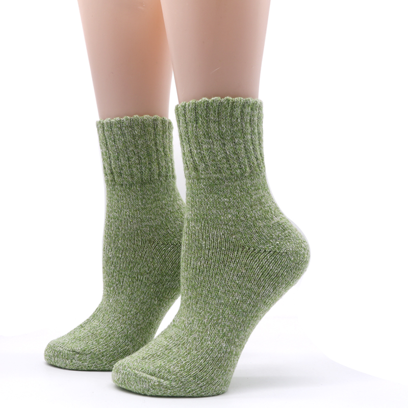 Winter Thermal Thick Socks  Comfortable Female Solid Casual   2