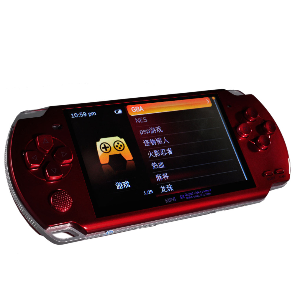 New MP4 MP5 Portable Multimedia Player With Digital Video Camera Auto Optical Zoom and TF Card Slot(TF Card NOT Included) image