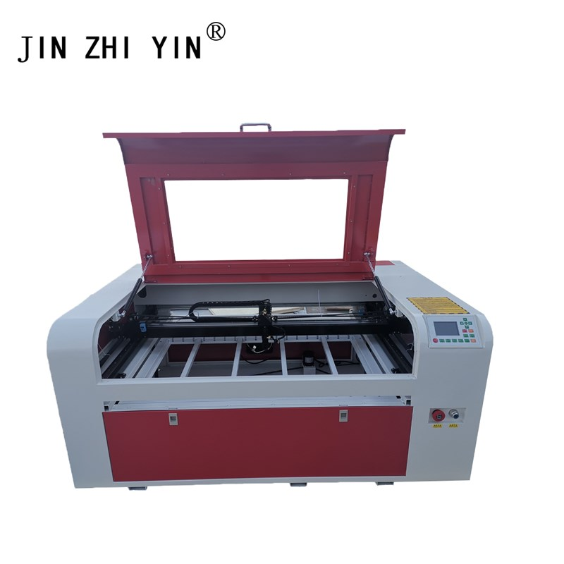 6090 Co2 Laser Cutting Machine Ruida System Clothing Laser Engraving Machine For Glass Cup