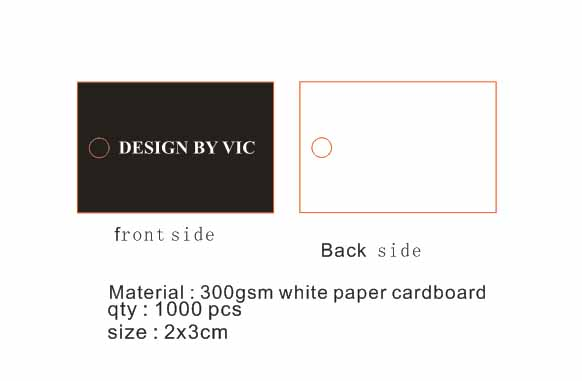 Lot Jewelry Packaging & Display Custom Logo Made Cardboard White Paper Print Black Letter 3cm Round Shape Products Gift Hang Tag 50000pcs Back To Search Resultsjewelry & Accessories