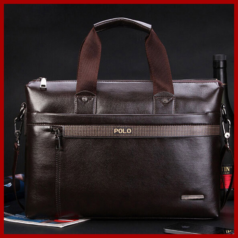 Free Shipping! New 2017 Fashion POLO Bag,High Quality Soft Leather Bag Men Messenger Bags Briefcase Fashion Men's Travel Bags все цены