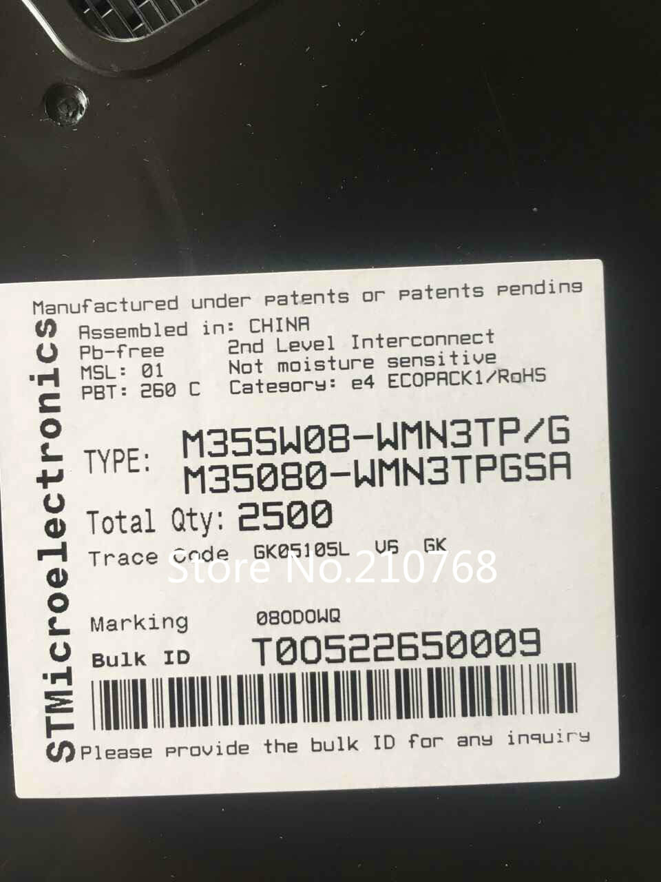 Электронные компоненты и материалы 5 ./M35080/wmn3tp