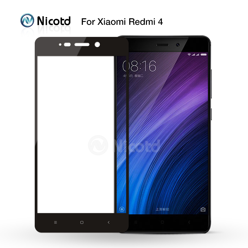 Image 4 - 2Pcs/Lot Full Cover Tempered Glass For Xiaomi Redmi 4X 4 Prime 4A 3S 3X Note 4 4X 3 Screen Protector For Redmi Note 8 7 6 5 Pro-in Phone Screen Protectors from Cellphones & Telecommunications on