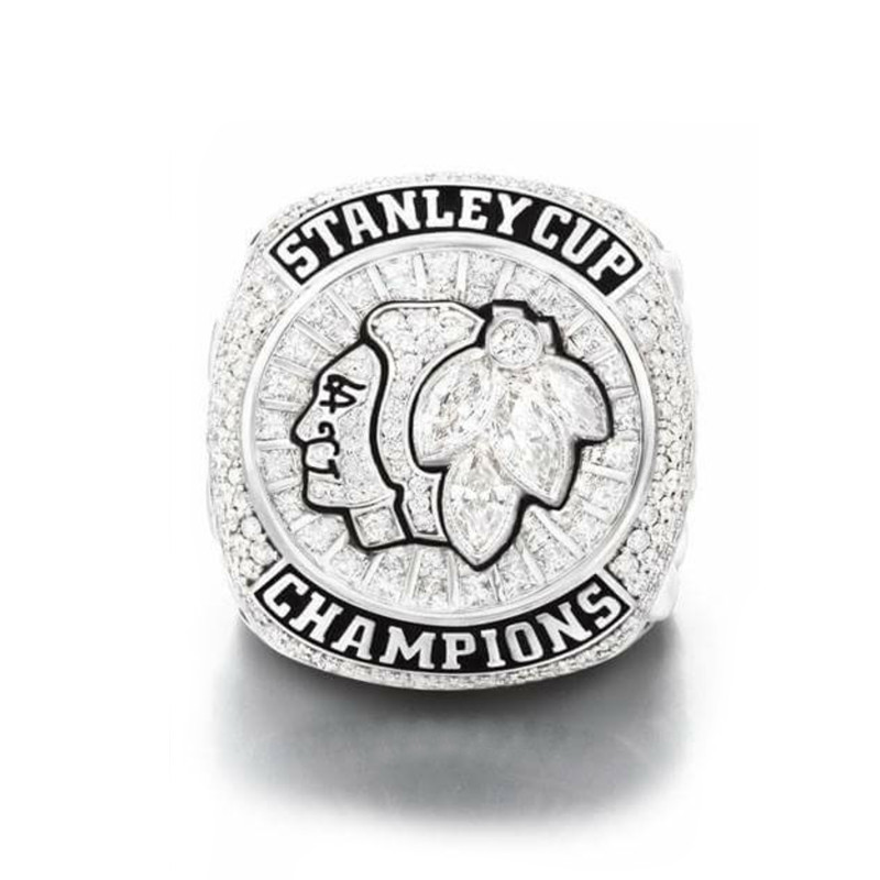 2015 Chicago Blackhawks <font><b>Stanley</b></font> <font><b>Cup</b></font> Hockey Championship ring