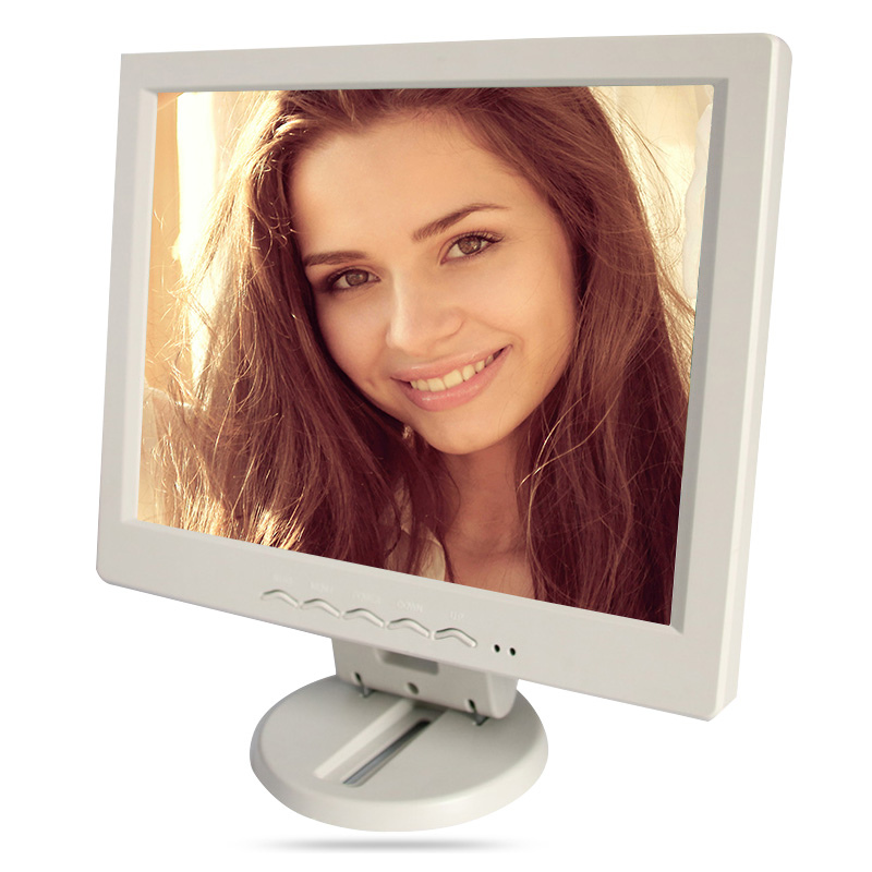 10 inch / 10.4 inch lcd monitor vga usb interface / output plastic shell resistive touch industrial and household use