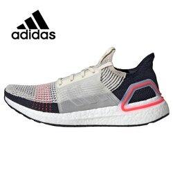 Original Authentic Adidas UltraBoost 19 UB19 Men Women Running Shoes Unisex Outdoor Sneakers Athletic Designer Footwear B37705