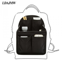 LDAJMW Women Bag Organizer Backpack Large Capacity Travel Storage Multi Functional Insert In Bags