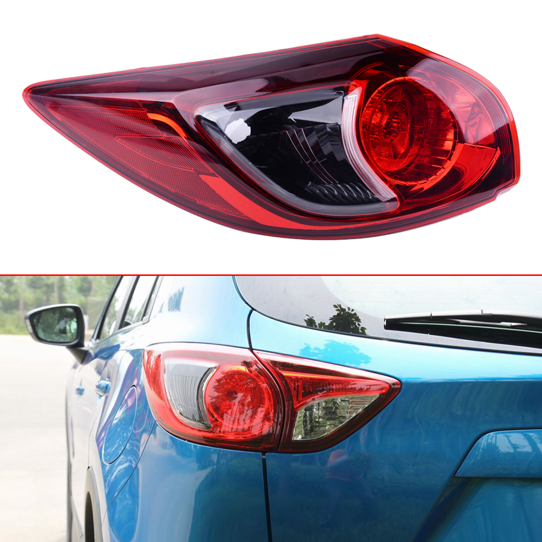 Right Side For 2013 14 15 2016 Mazda CX-5 CX5 Rear Outer Tail Lamp Brake Light