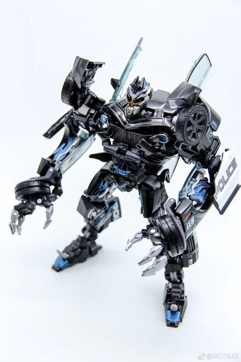 4th Party Masterpiece Movie Series MPM05 Barricade Transformation Action Figure Police Mode Collection KO Robot Toys Boys Gift цена