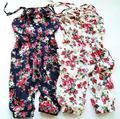 Summer Style Toddler Girls Kids Summer Soft Jumpsuit Playsuit Clothing One-piece 2-8Y